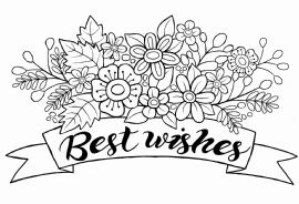 Woodware - Best Wishes Banner - Clear Magic Singles Stamp - JGS494